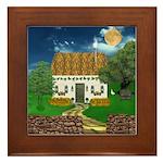 Storm Cottage Framed Tile
