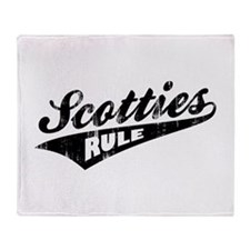 Scotties Rule Throw Blanket