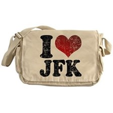 I heart JFK Messenger Bag