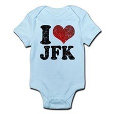 I heart JFK Infant Bodysuit