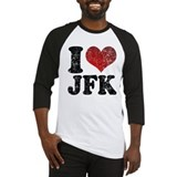 I heart JFK Baseball Jersey