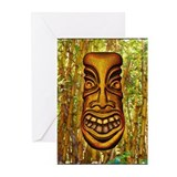 Bamboo Tiki Greeting Cards (Pk of 10)