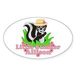 Little Stinker Allison Sticker (Oval)