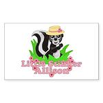 Little Stinker Allison Sticker (Rectangle 10 pk)