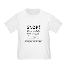 AllergyShirtmultiple T-Shirt