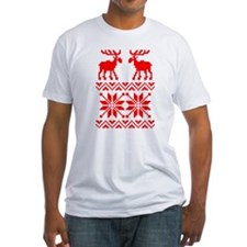 Moose Sweater Christmas Pattern Shirt