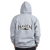 Tattoo & Haven logo - Zip Hoody