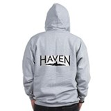 Tattoo & Haven logo - Zipped Hoody
