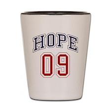 Barack Obama Hope 09 Shot Glass