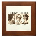 The Bronte Sisters Framed Tile