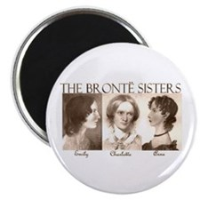 "The Bronte Sisters 2.25"" Magnet (10 pack)"