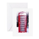 Christmas Calling Winter Greeting Cards (Pk of 10)