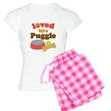 Puggle Dog Gift pajamas