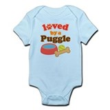 Puggle Dog Gift Onesie