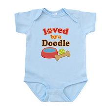 Doodle Dog Gift Infant Bodysuit