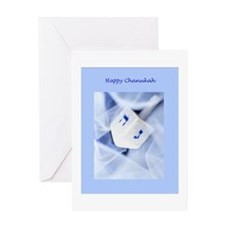 Greeting Card-Chanukah Dreidel