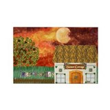 Sunset Cottage 2 Magnets (10 pack)