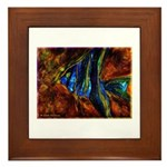 Angel Fish Framed Tile