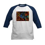 Angel Fish Kids Baseball Jersey