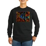 Angel Fish Long Sleeve Dark T-Shirt