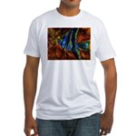 Angel Fish Fitted T-Shirt