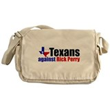 Texans Against Rick Perry Messenger Bag