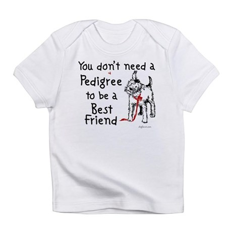 No Pedigree Needed Infant T-Shirt