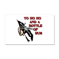 Yo Ho Ho Pirate Car Magnet 20 x 12