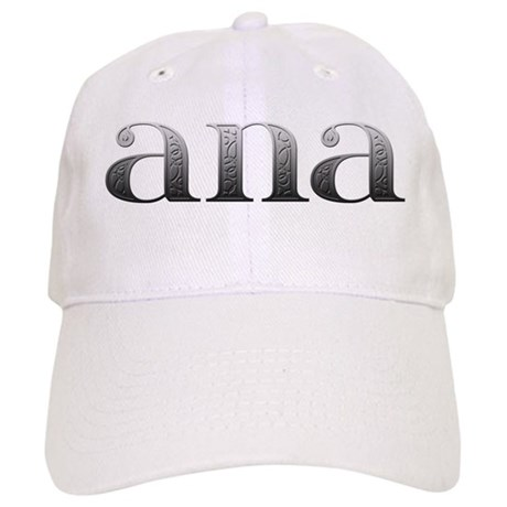 Ana Carved Metal Cap