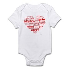 Adoption Adjectives Onesie