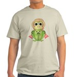 Funny Frog With Hat Light T-Shirt