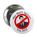New Mexico Against Rick Perry button