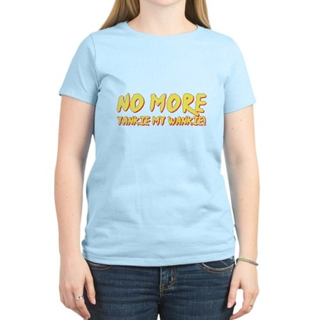 No More Yankie Womens Light T-Shirt