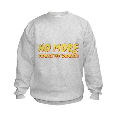 No More Yankie Kids Sweatshirt