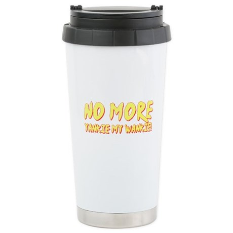 No More Yankie Ceramic Travel Mug