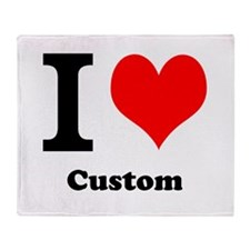 Custom Love Throw Blanket