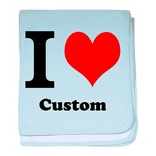 Custom Love baby blanket