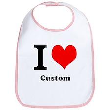 Custom Love Bib
