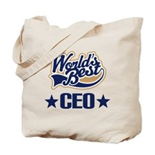CEO Gift (Worlds Best) Tote Bag