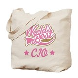 CIO Gift (Worlds Best) Tote Bag