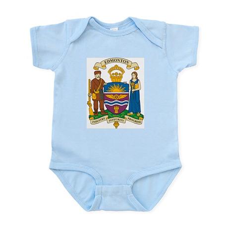 Edmonton Coat of Arms Infant Creeper