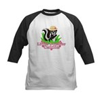 Little Stinker Caitlin Kids Baseball Jersey