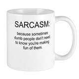 sarcasm Small Mugs