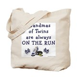Grandmas on the Run Tote Bag