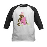 Sock Monkey Monogram Girl A Tee