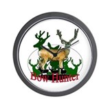 Bow Hunter 3 Wall Clock