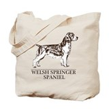 Welsh Springer Spaniel Tote Bag