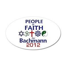 Bachmann 2012 38.5 x 24.5 Oval Wall Peel
