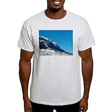Roccacaramanico Italy Ash Grey T-Shirt