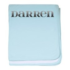 Darren Carved Metal baby blanket